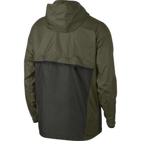 Nike Shield Jacket Men olive canvas/sequoia/black